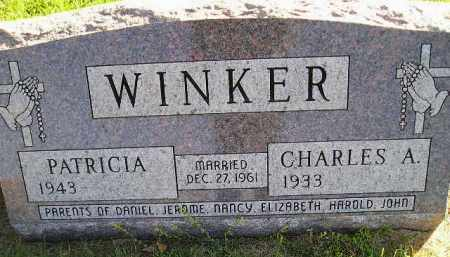 WINKER, PATRICIA - Miner County, South Dakota   PATRICIA WINKER - South Dakota Gravestone Photos