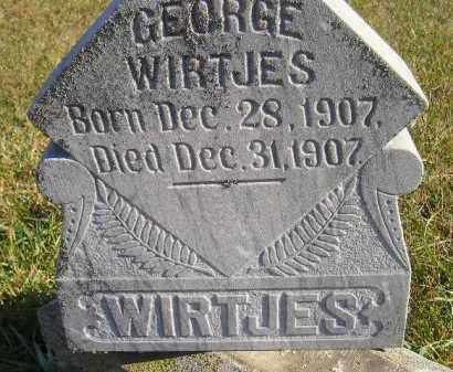 WIRTJES, GEORGE - Miner County, South Dakota | GEORGE WIRTJES - South Dakota Gravestone Photos