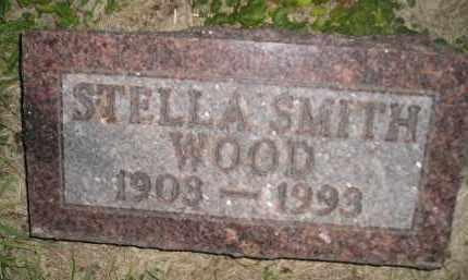 WOOD, STELLA - Miner County, South Dakota | STELLA WOOD - South Dakota Gravestone Photos