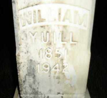 YUILL, WILLIAM - Miner County, South Dakota | WILLIAM YUILL - South Dakota Gravestone Photos