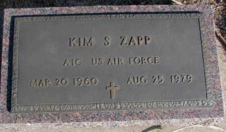 ZAPP, KIM S. - Miner County, South Dakota   KIM S. ZAPP - South Dakota Gravestone Photos