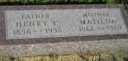 ZIMMERMANN, MATILDA - Miner County, South Dakota | MATILDA ZIMMERMANN - South Dakota Gravestone Photos