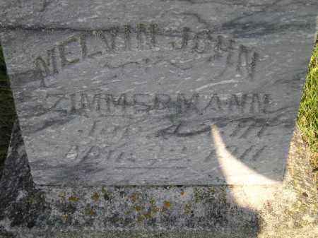ZIMMERMANN, MELVIN JOHN - Miner County, South Dakota   MELVIN JOHN ZIMMERMANN - South Dakota Gravestone Photos