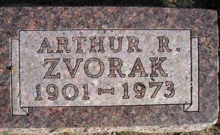 ZVORAK, ARTHUR R. - Miner County, South Dakota | ARTHUR R. ZVORAK - South Dakota Gravestone Photos