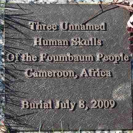 *FOUMBAUM TRIBE, HUMAN SKULLS - Minnehaha County, South Dakota | HUMAN SKULLS *FOUMBAUM TRIBE - South Dakota Gravestone Photos