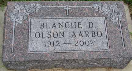 AARBO, BLANCHE D. - Minnehaha County, South Dakota | BLANCHE D. AARBO - South Dakota Gravestone Photos
