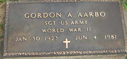 AARBO, GORDON A. (WWII) - Minnehaha County, South Dakota | GORDON A. (WWII) AARBO - South Dakota Gravestone Photos