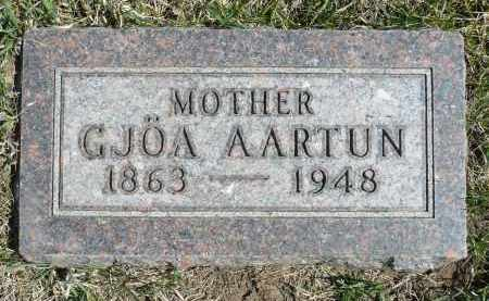 AARTUN, GJOA - Minnehaha County, South Dakota   GJOA AARTUN - South Dakota Gravestone Photos