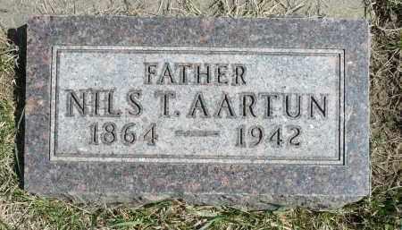AARTUN, NILS T. - Minnehaha County, South Dakota | NILS T. AARTUN - South Dakota Gravestone Photos