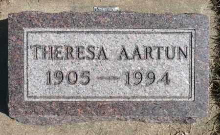AARTUN, THERESA - Minnehaha County, South Dakota | THERESA AARTUN - South Dakota Gravestone Photos