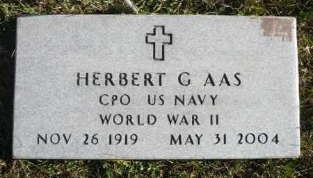 AAS, HERBERT G. - Minnehaha County, South Dakota | HERBERT G. AAS - South Dakota Gravestone Photos
