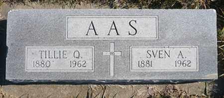 AAS, SVEN A. - Minnehaha County, South Dakota | SVEN A. AAS - South Dakota Gravestone Photos