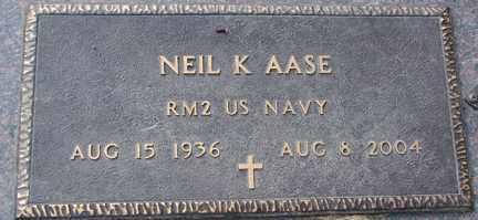 AASE, NEIL K. - Minnehaha County, South Dakota   NEIL K. AASE - South Dakota Gravestone Photos