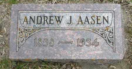 AASEN, ANDREW J. - Minnehaha County, South Dakota | ANDREW J. AASEN - South Dakota Gravestone Photos