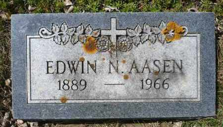 AASEN, EDWIN NICOLAI - Minnehaha County, South Dakota | EDWIN NICOLAI AASEN - South Dakota Gravestone Photos