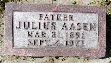 AASEN, JULIUS - Minnehaha County, South Dakota | JULIUS AASEN - South Dakota Gravestone Photos