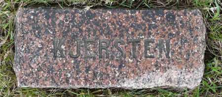 AASEN, KJERSTEN - Minnehaha County, South Dakota | KJERSTEN AASEN - South Dakota Gravestone Photos