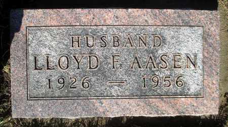 AASEN, LLOYD F. - Minnehaha County, South Dakota | LLOYD F. AASEN - South Dakota Gravestone Photos