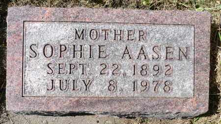 AASEN, RAGNA SOPHIE - Minnehaha County, South Dakota | RAGNA SOPHIE AASEN - South Dakota Gravestone Photos