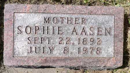 AASEN, SOPHIE - Minnehaha County, South Dakota   SOPHIE AASEN - South Dakota Gravestone Photos