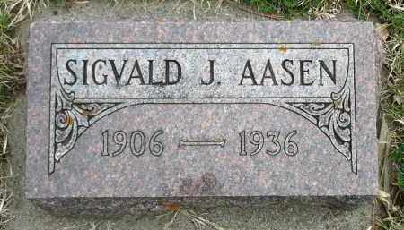 AASEN, SIGVALD J. - Minnehaha County, South Dakota | SIGVALD J. AASEN - South Dakota Gravestone Photos