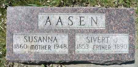 AASEN, SIVERT J. (SEVERT) - Minnehaha County, South Dakota | SIVERT J. (SEVERT) AASEN - South Dakota Gravestone Photos