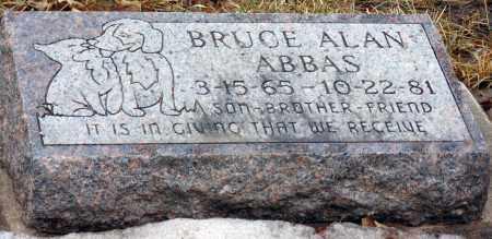 ABBAS, BRUCE ALAN - Minnehaha County, South Dakota | BRUCE ALAN ABBAS - South Dakota Gravestone Photos
