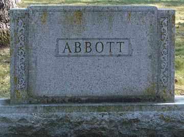 ABBOTT, FAMILY MARKER - Minnehaha County, South Dakota | FAMILY MARKER ABBOTT - South Dakota Gravestone Photos