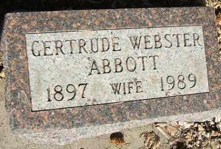 ABBOTT, GERTRUDE - Minnehaha County, South Dakota | GERTRUDE ABBOTT - South Dakota Gravestone Photos