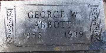 ABBOTT, GEORGE W. - Minnehaha County, South Dakota | GEORGE W. ABBOTT - South Dakota Gravestone Photos