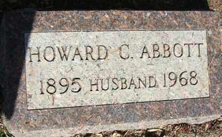 ABBOTT, HOWARD C. - Minnehaha County, South Dakota   HOWARD C. ABBOTT - South Dakota Gravestone Photos