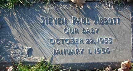 ABBOTT, STEVEN PAUL - Minnehaha County, South Dakota | STEVEN PAUL ABBOTT - South Dakota Gravestone Photos