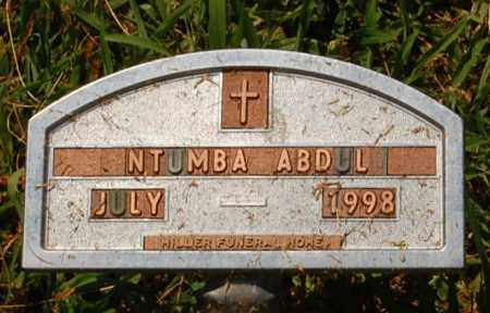 ABDUL, NTUMBA - Minnehaha County, South Dakota | NTUMBA ABDUL - South Dakota Gravestone Photos