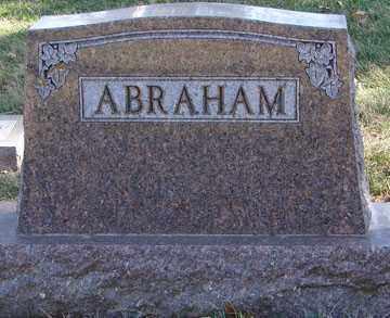 ABRAHAM, FAMILY MARKER - Minnehaha County, South Dakota | FAMILY MARKER ABRAHAM - South Dakota Gravestone Photos