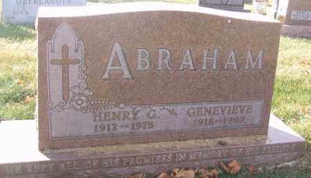 ABRAHAM, GENEVIEVE - Minnehaha County, South Dakota | GENEVIEVE ABRAHAM - South Dakota Gravestone Photos