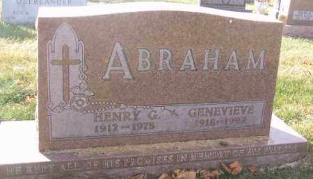 ABRAHAM, HENRY G. - Minnehaha County, South Dakota | HENRY G. ABRAHAM - South Dakota Gravestone Photos
