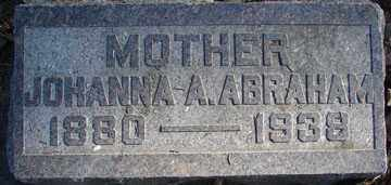 ABRAHAM, JOHANNA A. - Minnehaha County, South Dakota | JOHANNA A. ABRAHAM - South Dakota Gravestone Photos