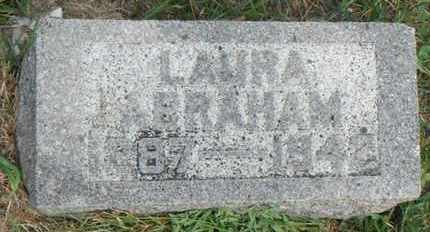ABRAHAM, LAURA - Minnehaha County, South Dakota | LAURA ABRAHAM - South Dakota Gravestone Photos