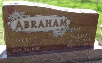 ABRAHAM, HILDA - Minnehaha County, South Dakota | HILDA ABRAHAM - South Dakota Gravestone Photos
