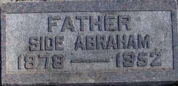 ABRAHAM, SIDE - Minnehaha County, South Dakota | SIDE ABRAHAM - South Dakota Gravestone Photos
