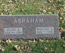 ABRAHAM, WALLACE L. - Minnehaha County, South Dakota | WALLACE L. ABRAHAM - South Dakota Gravestone Photos