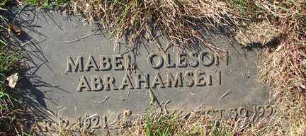 ABRAHAMSEN, MABEL - Minnehaha County, South Dakota | MABEL ABRAHAMSEN - South Dakota Gravestone Photos