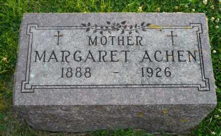 ACHEN, MARGARET - Minnehaha County, South Dakota | MARGARET ACHEN - South Dakota Gravestone Photos