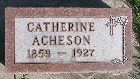ACHESON, CATHERINE - Minnehaha County, South Dakota | CATHERINE ACHESON - South Dakota Gravestone Photos