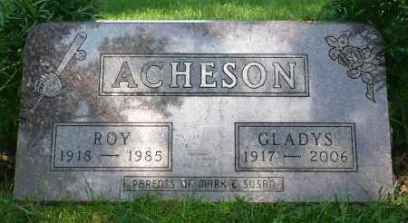 ACHESON, GLADYS - Minnehaha County, South Dakota | GLADYS ACHESON - South Dakota Gravestone Photos
