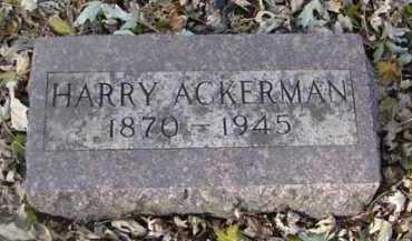 ACKERMAN, HARRY - Minnehaha County, South Dakota | HARRY ACKERMAN - South Dakota Gravestone Photos