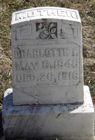 ADAMS, CHARLOTTE E. - Minnehaha County, South Dakota   CHARLOTTE E. ADAMS - South Dakota Gravestone Photos