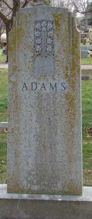 ADAMS, FAMILY  MARKER - Minnehaha County, South Dakota | FAMILY  MARKER ADAMS - South Dakota Gravestone Photos