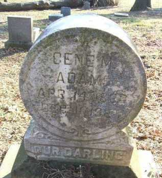 ADAMS, GENE M. - Minnehaha County, South Dakota | GENE M. ADAMS - South Dakota Gravestone Photos