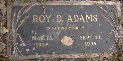 ADAMS, ROY D. - Minnehaha County, South Dakota | ROY D. ADAMS - South Dakota Gravestone Photos